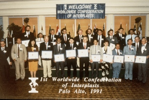 The 1st Worldwide Confederation of Interplasts in 1991. These elite contributors to the fund of knowledge of Interplast show how these early trips to Mexico allowed the spirit of Interplast to multiply. One must never denigrate the treatment of the single person because in medicine, the one person multiplies into many.