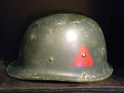republican guard helmet and insignia